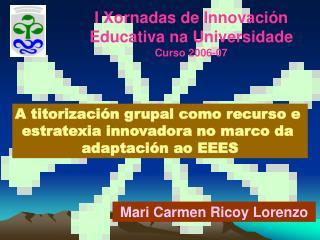 Mari Carmen Ricoy Lorenzo