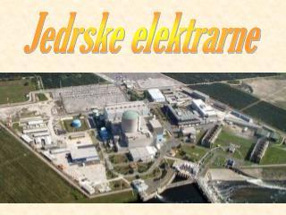 Jedrske elektrarne
