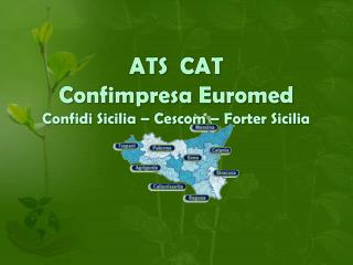 ATS CAT Confimpresa Euromed Confidi Sicilia – Cescom – Forter Sicilia