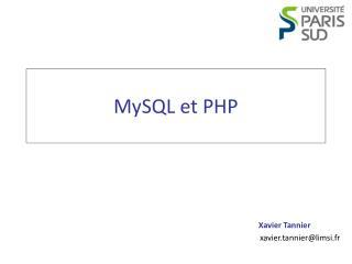 MySQL et PHP