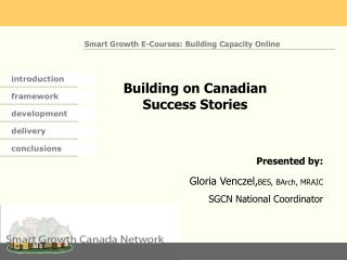 Building on Canadian Success Stories