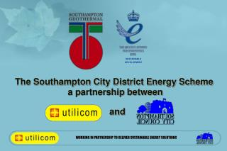 The Southampton City District Energy Scheme  a partnership between