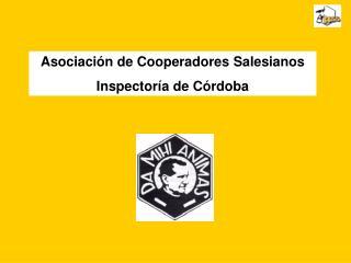 Asociación de Cooperadores Salesianos Inspectoría de Córdoba