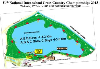 54 th National Inter-school Cross Country Championships 2013