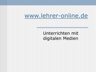 lehrer-online.de