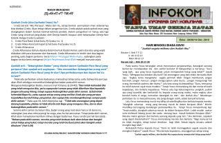 Edisi : XXVII/14 Okt . 2012
