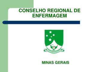 CONSELHO REGIONAL DE ENFERMAGEM