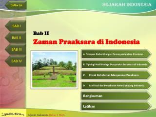 Zaman Praaksara di Indonesia