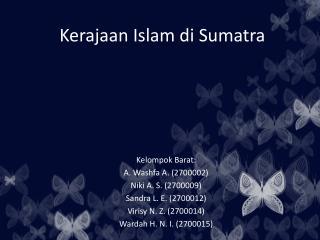 Kerajaan Islam di Sumatra
