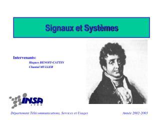 Signaux et Systèmes