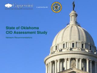 State of Oklahoma CIO Assessment Study