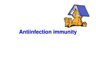 Antiinfection immunity