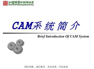 CAM 系 统 简 介