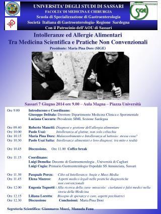 Intolleranze ed Allergie Alimentari  Tra Medicina Scientifica e Pratiche Non Convenzionali