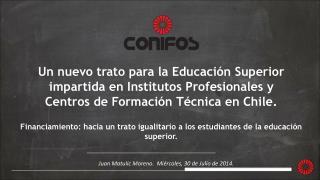 Juan Matulic Moreno. Miércoles, 30 de Julio de 2014.