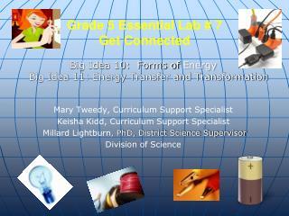 Grade 5 Essential Lab # 7 Get Connected
