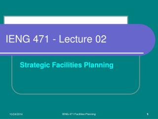 IENG 471 - Lecture 02
