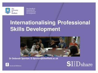 Internationalising Professional Skills Development