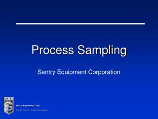 Process Sampling