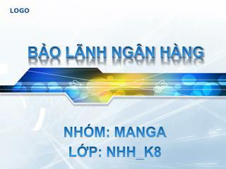 BẢO LÃNH NGÂN HÀNG