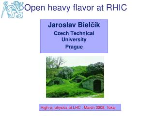 Jaroslav Biel čí k Czech Technical University Prague