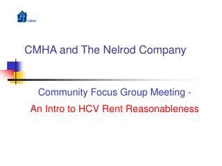 CMHA and The Nelrod Company