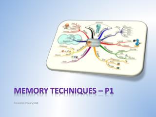Memory techniques – p1