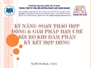 Tp Hồ Chí Minh, 7-2014