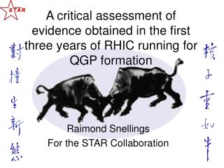 Raimond Snellings For the STAR Collaboration