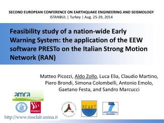SECOND EUROPEAN CONFERENCE ON EARTHQUAKE ENGINEERING AND SEISMOLOGY