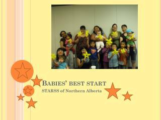 Babies' best start