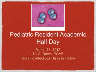 Pediatric Resident Academic Half Day