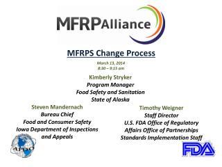 MFRPS Change Process