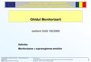 Ghidul Monitorizarii