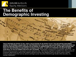 The Benefits of Demographic Investing