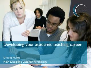 Developing your academic teaching career