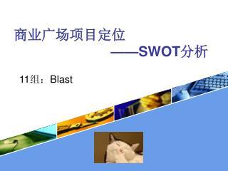 商业广场项目定位 ——SWOT 分析