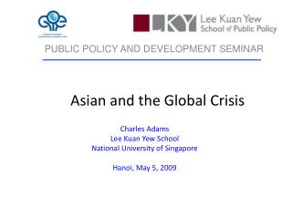 Asian and the Global Crisis