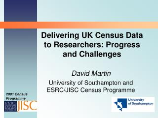 Delivering UK Census Data to Researchers: Progress and Challenges