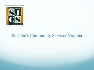 St. John ' s Community Services-Virginia