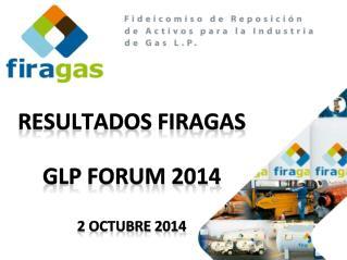 RESULTADOS FIRAGAS GLP FORUM 2014 2 OCTUBRE 2014