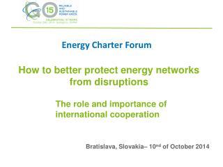 Energy Charter Forum
