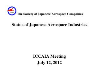 The Society of Japanese Aerospace Companies