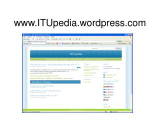 ITUpedia.wordpress
