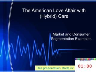 The American Love Affair with (Hybrid) Cars