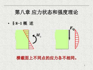 第八章 应力状态和强度理论