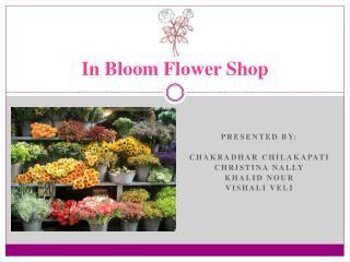 In Bloom Flower Shop