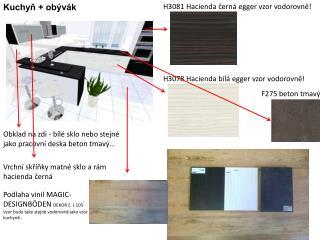 Kuchyň + obývák