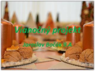 Vianočný projekt