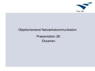 Objektorienteret Netværkskommunikation